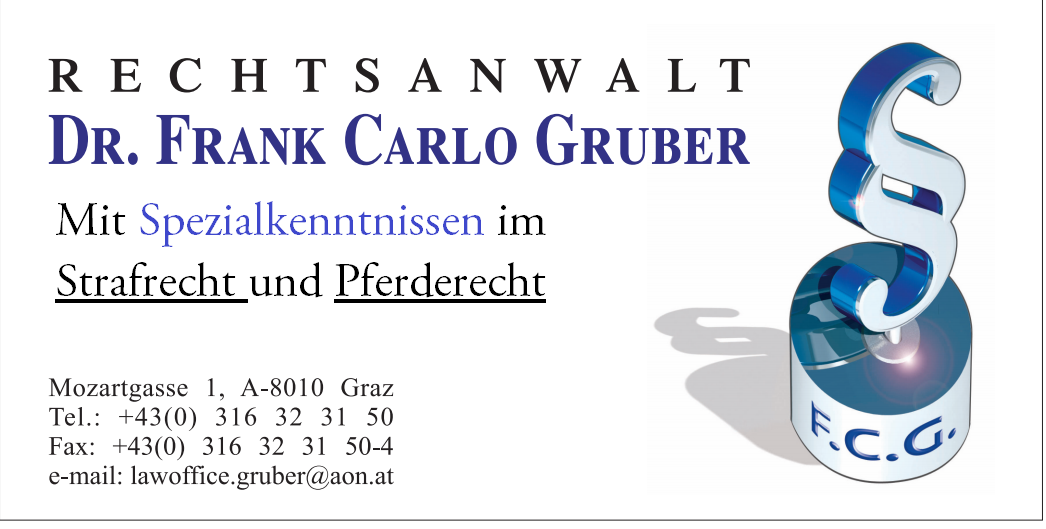 Rechtsanwalt Dr. Frank Carlo Gruber